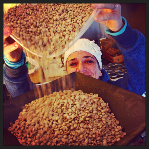 green beans, coffee beans, coffee roaster, charge