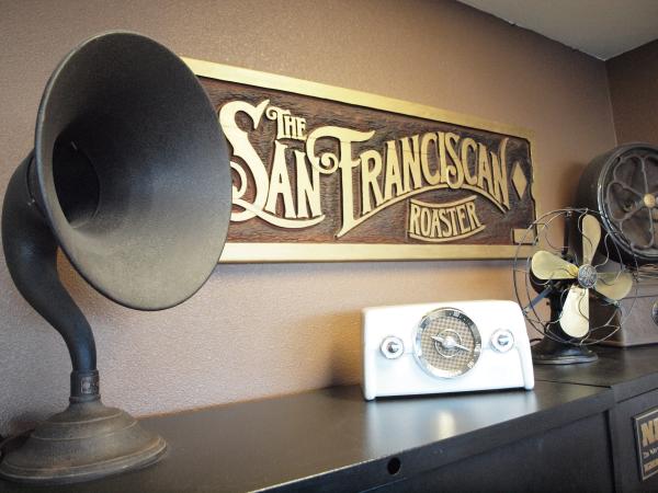 san franciscan, coffee roaster, san fran roaster, SF6