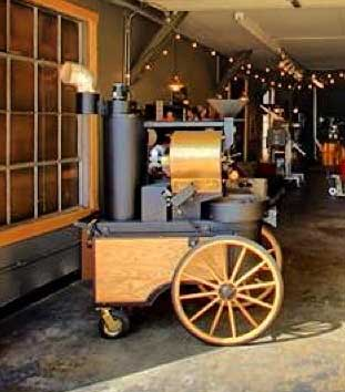 The perfect small batch artisan coffee roaster