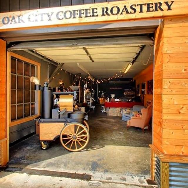 Oak City Coffee Roaster SF-6 in Raleigh North Carolina