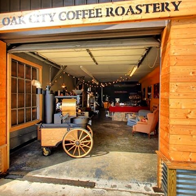 Oak City Coffee Roaster SF-6 in Raleigh North Carolina