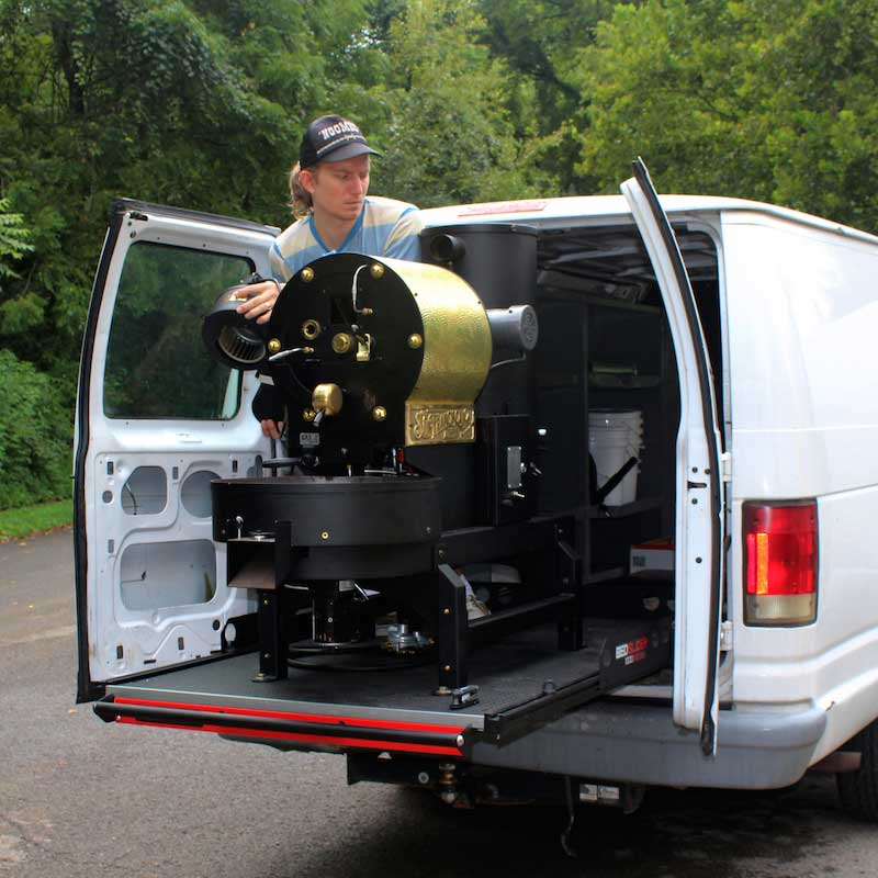 The SF-6 mobile/van set up