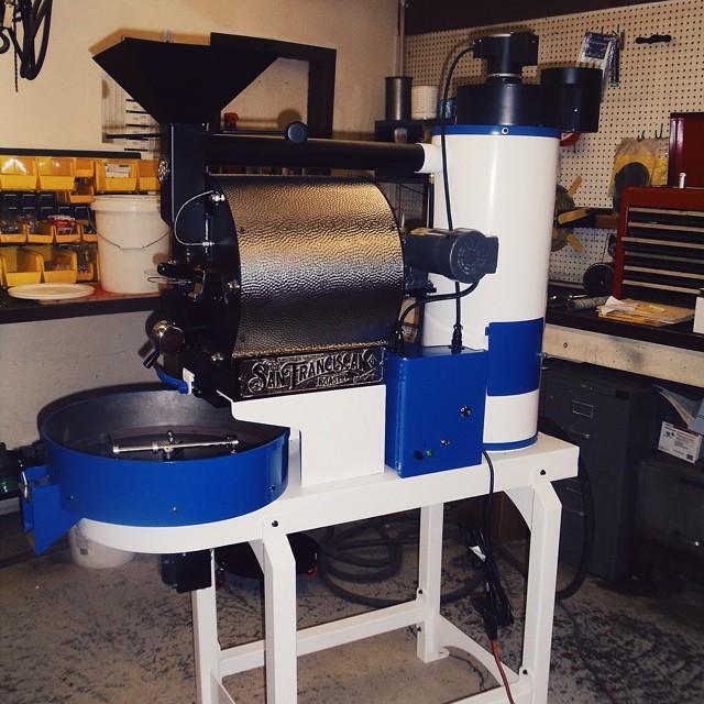 Treeline Coffee's SF-6 in Bozeman Montana