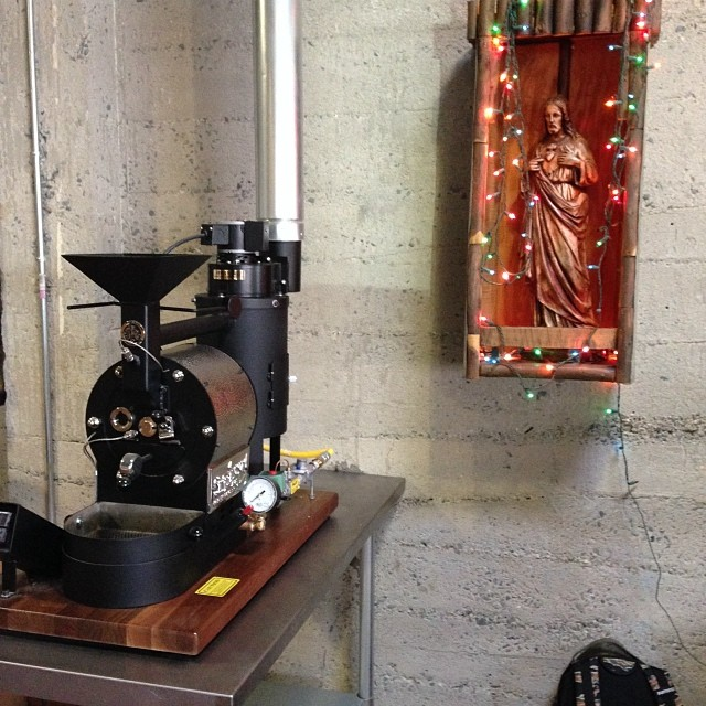 1 lb/ 600g coffee roaster for Naked Coffee in Sacramento