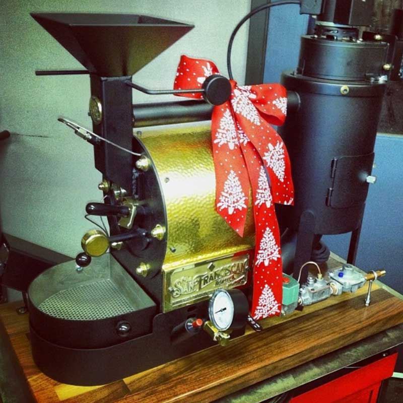 The San Franciscan Coffee Roaster makes a great Christmas gift too
