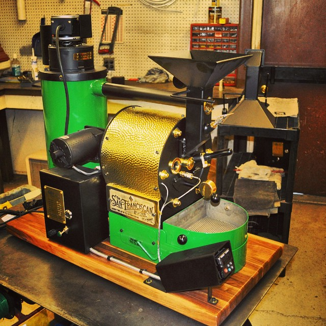 Kelly Green SF-1 Coffee Roaster
